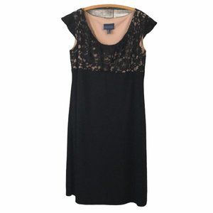 Addition Elle Black Lace Stretchy Dress Size 22